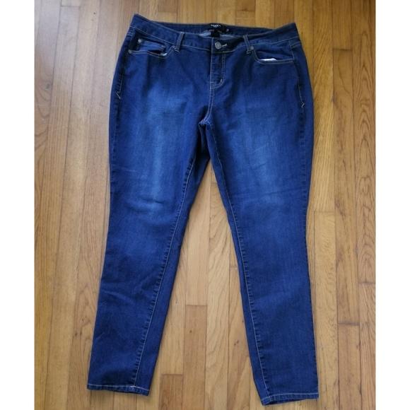 torrid Denim - Torrid Blue Skinny Size 18R